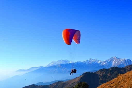 paragliding from best place in India is Bir Billing