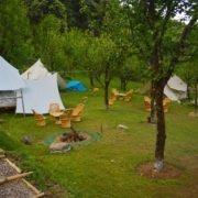 Camping in Bir