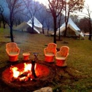 Camping at Billing