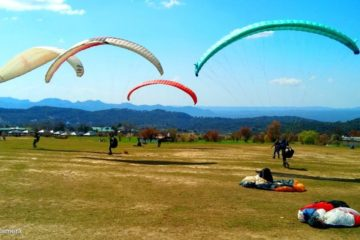 short paragliding session in Bir Billing himachal pradesh for adventure