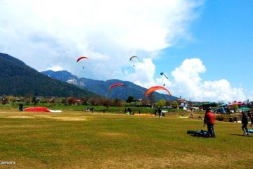long paragliding session of paragliding in Bir Billing
