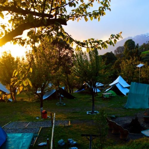 Camping and paragliding packages at Bir Billing himachal pradesh