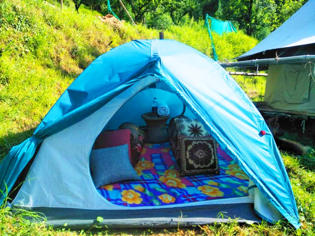 tent stay paragliding, packages in Bir Billing holidays